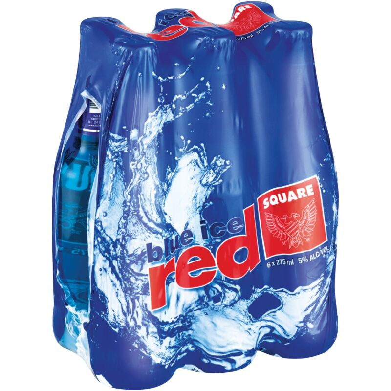 RED SQUARE BLUE ICE – 275ML X 6