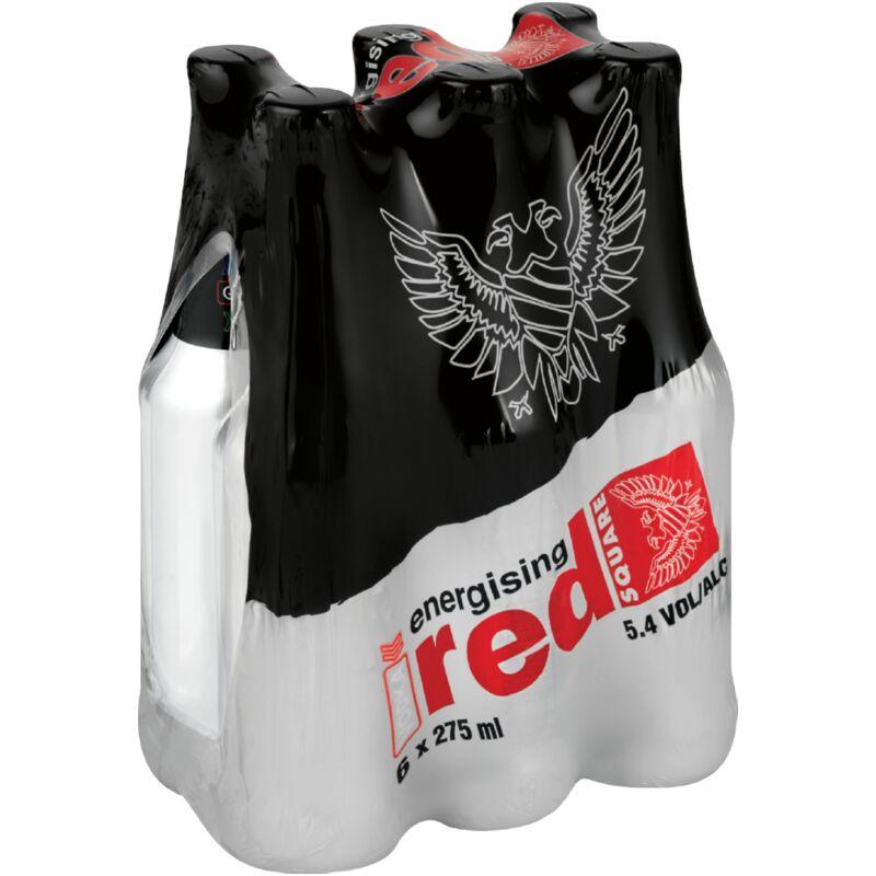 RED SQUARE ENERGISER VODKA – 275ML X 6