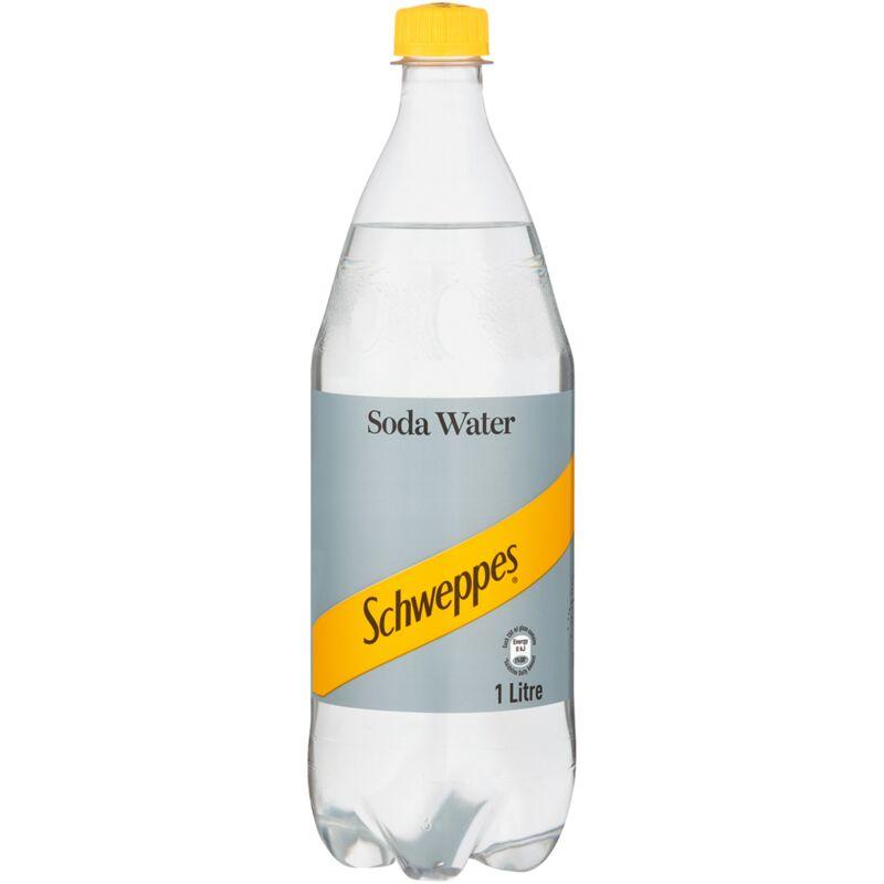 SCHWEPPES SODA WATER – 1L