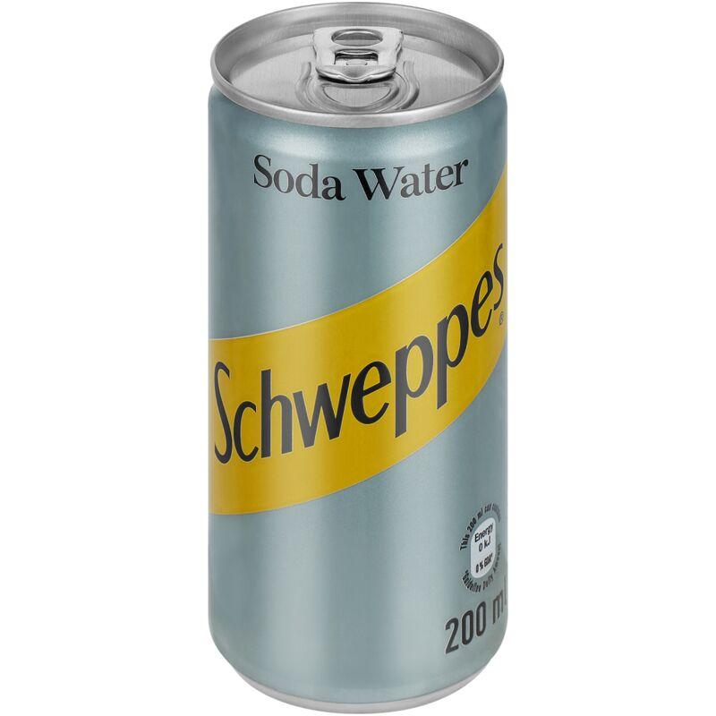 SCHWEPPES SODA WATER – 200ML