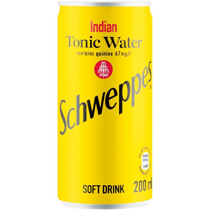 SCHWEPPES TONIC WATER – 200ML