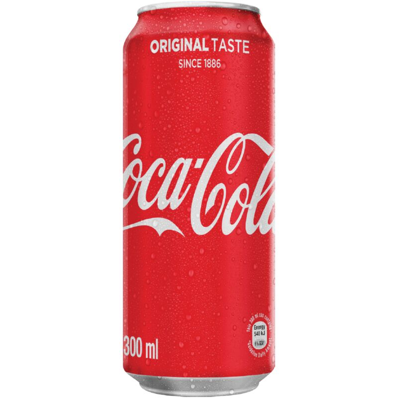 COCA COLA SOFT DRINK CAN – 300ML