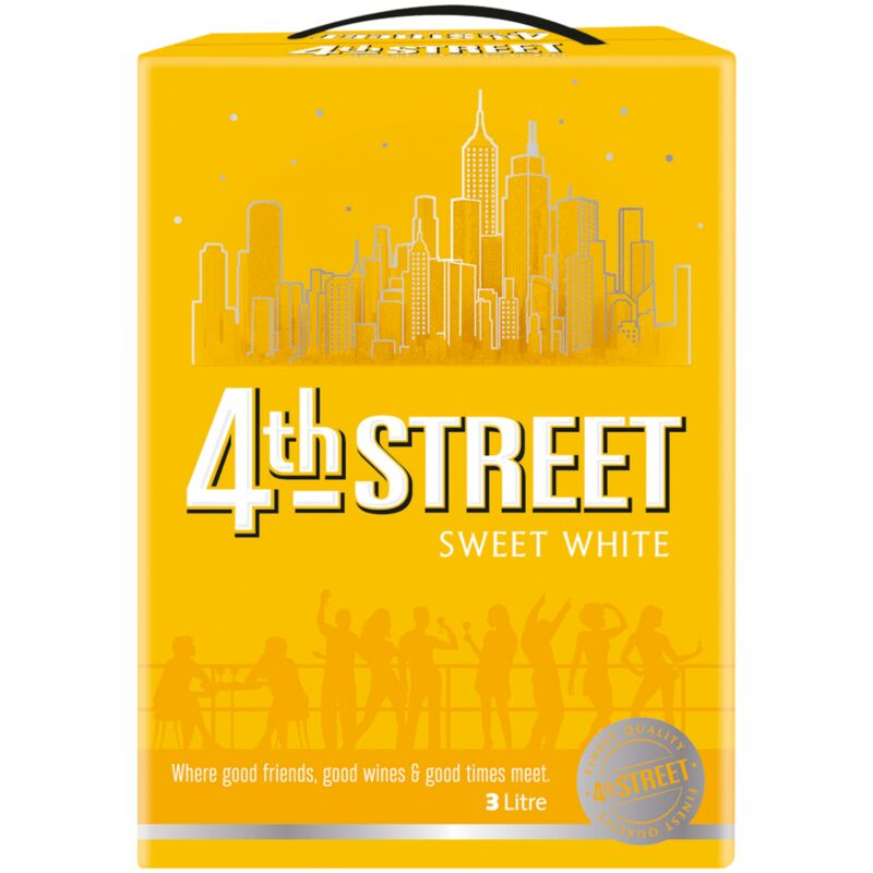 4TH STREET NATURAL SWEET WHITE – 3L