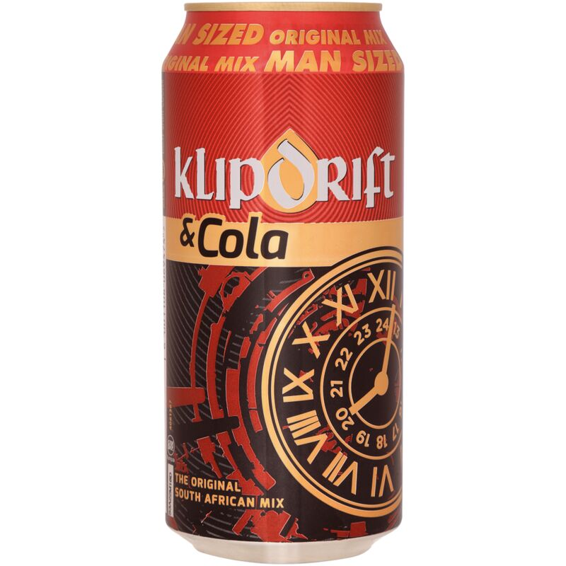 KLIPDRIFT & COLA – 440ML