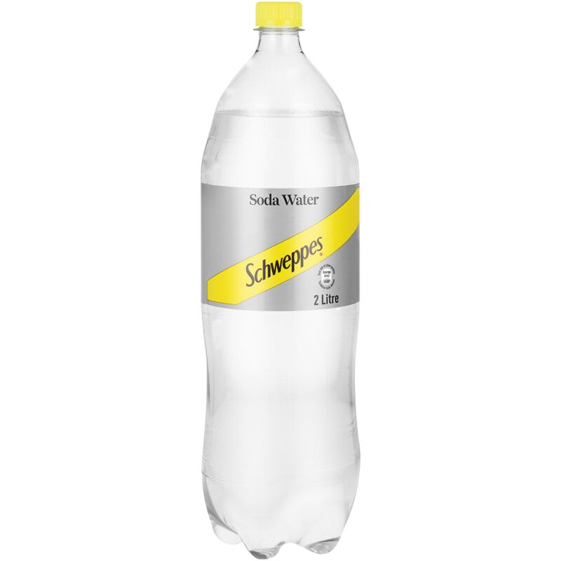 SCHWEPPES SODA WATER – 2L