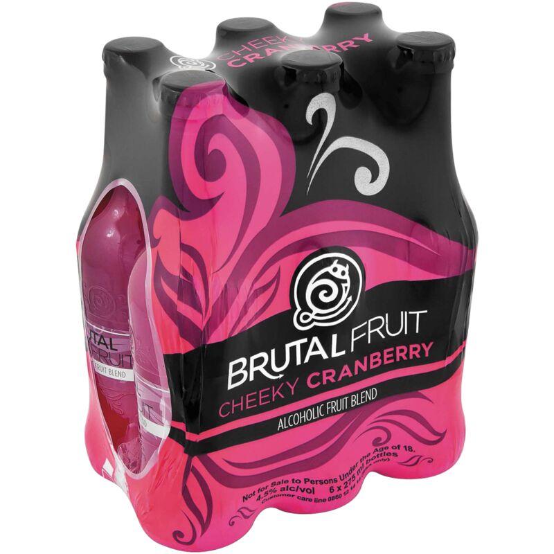 BRUTAL FRUIT CRANBERRY 6S – 275ML