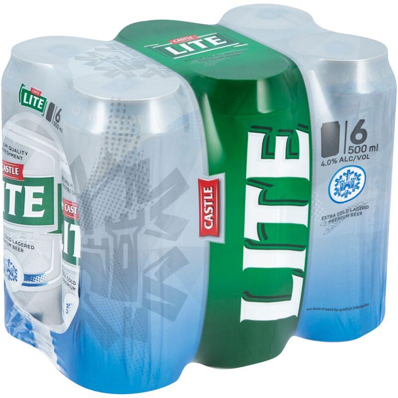 CASTLE LITE ICE CORE CA 6S – 500ML