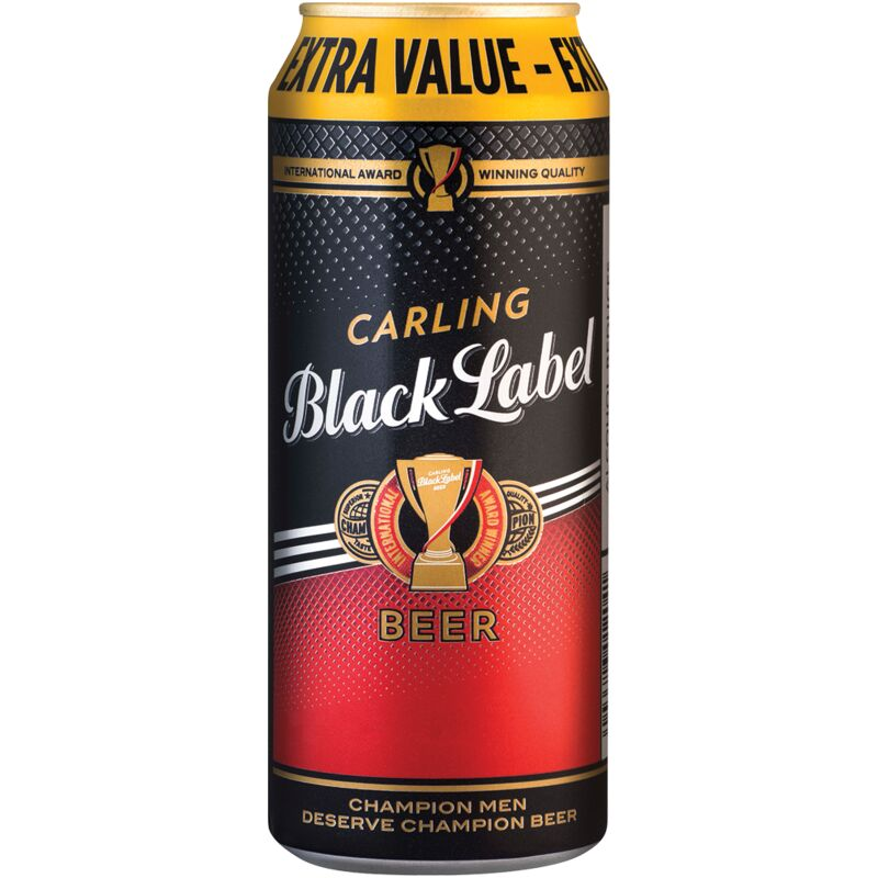 CARLING BLACK LABEL – 500ML