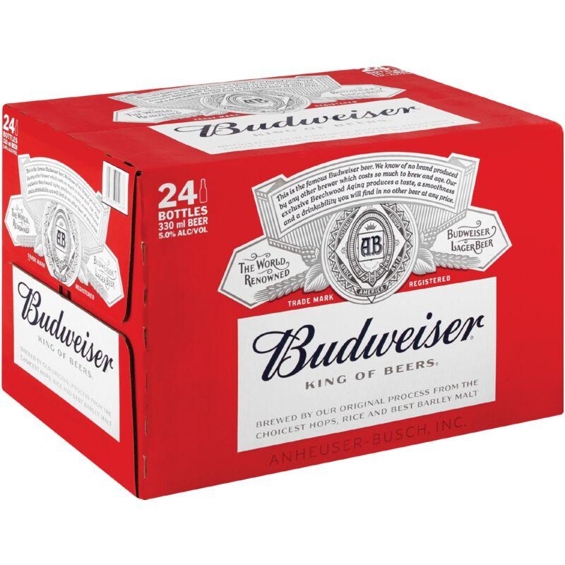 BUDWEISER NRB – 330ML X 24