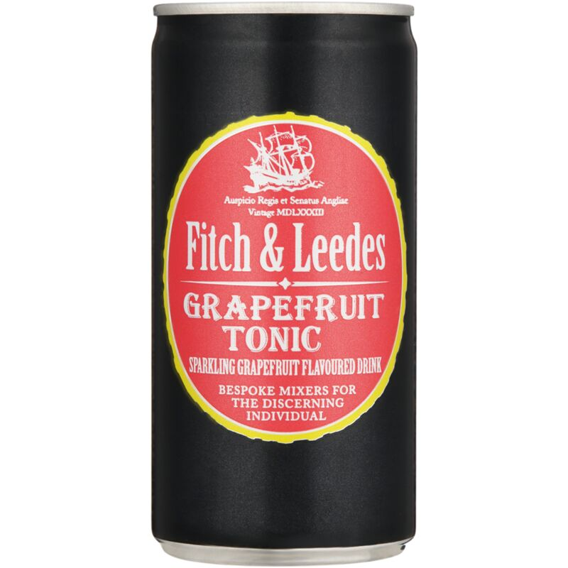 FITCH & LEEDES TONIC GRAPEFRUIT CAN – 200ML