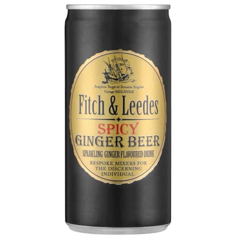 FITCH & LEEDES GINGER BEER CAN – 200ML