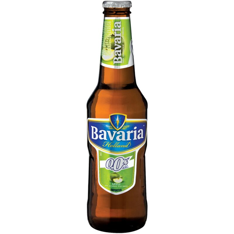 BAVARIA 0% APPLE MALT – 330ML