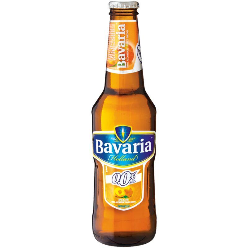 BAVARIA 0% MALT PEACH – 330ML